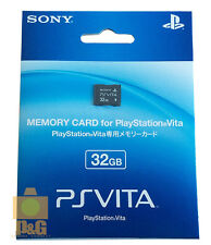 NEW BOXED SONY 32G 32GB PSVITA PSV PS VITA Playstation Memory Card
