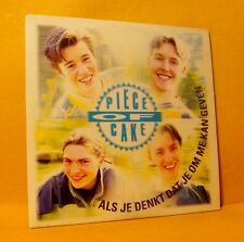 Cardsleeve single CD Piece Of Cake Als Je Denkt Dat Je Om Me ... 2 TR 1997 Pop