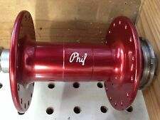 PHILLWOOD track hub Rear Single Fixed ,Lockring.Red color high flange 32Hole