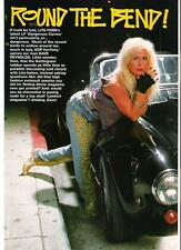 LITA FORD black gloves,black car magazine PHOTO / Pin Up /Poster 11x8""