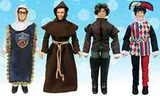 The Big Bang Theory Renaissance Fair Costumes 8-Inch Action Figures SET OF 4