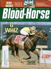2004 The Blood-Horse Magazine #13: Sinister G's Lane's End Stakes/Nelson Bunker