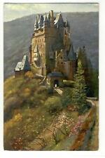 AK Wierschem, Burg Eltz, Künstler H. Hoffmann, 1910