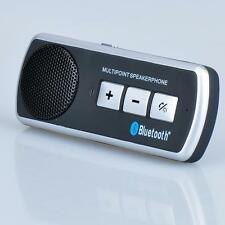 Bluetooth Hands free Car Kit Visor Clip Speakerphone for all phones iphone 4S 5