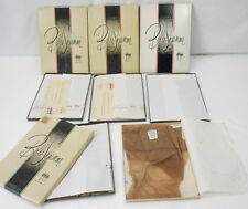 Lot of 9 Pairs! Vintage Belle-Sharmeer Thigh High Nylon Stockings NEW Sz 9.5 NOS