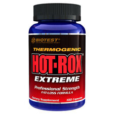 Hot-Rox Hot Rox Extreme Biotest Thermogenic Fat-Loss Formula 100CT Weight Loss