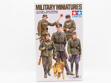 LOT 30314 Tamiya 35320 German Field Military Miniatures 1:35 Bausatz NEU in OVP