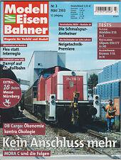 Modell Eisenbahner  Nr 3/2003