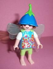 Playmobil    Magic Castle Figure -   Fairy Girl  wearing a flower top  - NEW