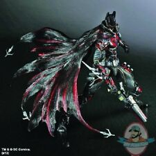 DC Universe Play Arts Kai Batman Limited Color Red Variant Square Enix