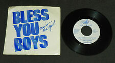 Detroit Tigers 1984 Bless You Boys This Is The Year 45 RPM Record Rare WDIV