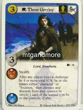 A Game of Thrones LCG - 1x Theon Greyjoy #038 - Ice and Fire Draft Pack