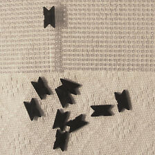 10 'Dove Tail Clips' for Pixelhobby Baseplates Art Craft Mosaicraft Pixel Kits