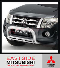 BRAND NEW GENUINE MITSUBISHI NT NW PAJERO FRONT ALLOY NUDGE BAR - MZ350061