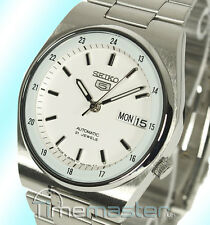 Seiko 5 Men's Automatic Casual Dress White Face SNXM17J5 SNXM17