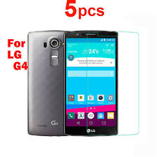 5X HQ Clear Screen Protector Cover LCD Guard Film for LG G4 Protective Film