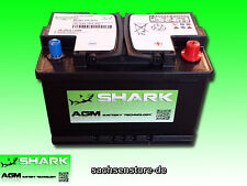 AGM Batterie SHARK 70Ah 12V - NEU