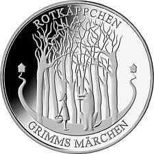 Ek // 20 Euro Silver Germany 2016 Series Grimm's : Little Red Riding Hood UNC