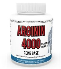 Vita World Arginin 4000 Reine Base 320 Tabletten L-Arginin Aminosäure Fitness