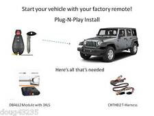 Plug-N-Play Remote Starter for Jeep - DBALL2 & CHTHD2 -uses your factory remotes