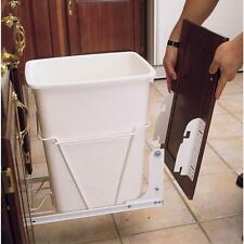 Pull Out Trash Can Waste Garbage Kitchen Door Metal Mount Kit for RV Drawer New