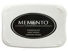 Stampin Up Memento Ink Pad  Black Use with your copic markers