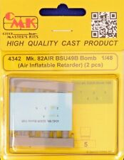 CMK SP4342 Resin 1/48 Mk.82AIR BSU49B Bomb (Air Inflatable Retarder) (2 pcs)