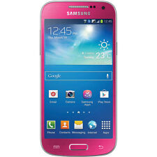 Samsung Galaxy S4 MINI i257 AT&T UNLOCKED Android 16GB Phone - Pink GOOD  B