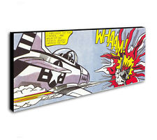Whaam! Roy Lichtenstein Pop Art 15x40 inch Panoramic Wall Art Print