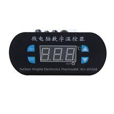 -50-120°C 12V Digital LED Heat Cool Thermostat Temperature Controller Sensor DE