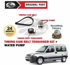 FOR CITROEN BERLINGO + VAN 1.4 8V 1996-2011 NEW TIMING CAM BELT KIT + WATER PUMP