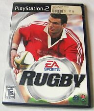 Rugby Sony PlayStation 2, 2001 E - Everyone FREE SHIPPING U.S.A.