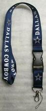 NFL Dallas Cowboys Breakaway Disconnecting Football LANYARD ID Key Holder NEW