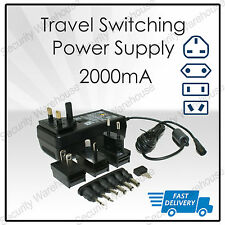 N3 World Switching Power Supply Universal Adapter UK EUR US AUS CCTV Camera LED