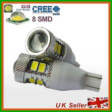 W16W T15 R5 CREE LED Car Reverse/Tail/Stop/Brake/Rear Fog Light Bulbs Wedge WHT