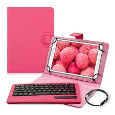 """Kwmobile bolso para tablet 9-10"""" teclado Bluetooth Keyboard imitación cuero protección"""