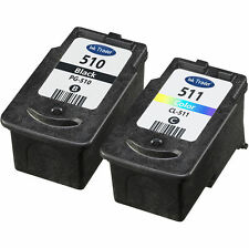 Canon PG510 & CL511 Ink Cartridges for Canon Pixma iP2702 Printers