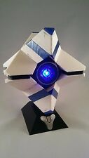 Destiny Ghost 3D Printed with BlueTooth Speaker and Display Stand.