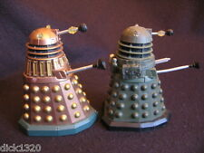 "RARE DR.WHO 5"" RARE IRONSIDE BLACKOUT & DAMAGED DALEK 'THEY' BRONZE/GOLD  c.2007"