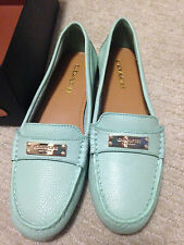 New Coach Women's Fredrica pistachio green loafers Size 8 with box