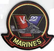 MV-22 OSPREY HAT PATCH US MARINES MAW MCAS USS FMF VTOL STOL TILTROTOR V22 WING