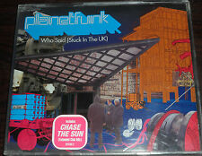 CD. Planet Funk / Who Said (Stuck In The UK) /5 tracks