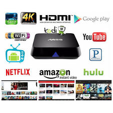 4K M8S Web Browsing Home Network Media Player 1080p Android Bluetooth TV Box