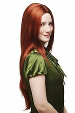 Wig copper-red glatt very long strong Part Hair Replacement 75 cm 3217-350