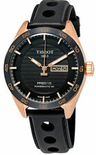 Tissot PRS516 Powermatic 80 Leather Automatic Men Watch T1004303605100 New Orig