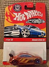 HOT WHEELS MODERN CLASSICS HONDA CIVIC Si 1/15 METAL/METAL *NEW*