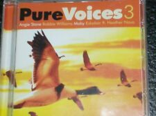 PURE VOICES 3 (2002) Moby, Westlife, Saybia, Heather Nova, Anouk, Dido, Roxette