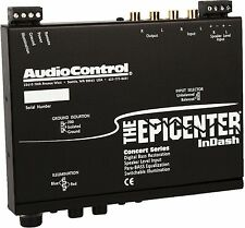 AUDIOCONTROL THE EPICENTER IN-DASH DIGITAL BASS MAXIMIZER/RESTORATION PROCESSOR