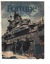 1945 Fortune July cover - U.S.S. Yorktown Aircraft Carrier