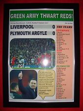 Liverpool 0 Plymouth Argyle 0 - 2017 FA Cup - framed print